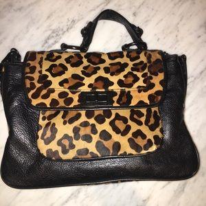 Black Leopard Rebecca Minkoff Purse